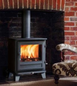 Chesney stove installed by stove installer in Scotland