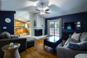 Beautiful house interior after fire restoration services has fixed it up